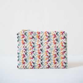 Reißverschlusstasche -   Pixelmuster