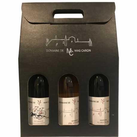 Christmas 2020: Nice box of 3 bottles of Ventoux - Promotion