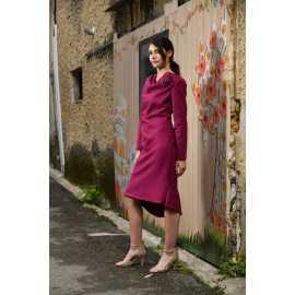 Robe en laine style année 60S