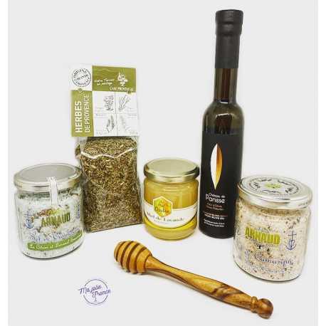 Box La Provence en cuisine