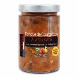 Fondue de courgettes à la tomate de Provence Y. Reynier - bocal 327 ml - 290 g