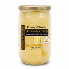 demi poires Williams 720 ml