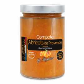 compote d'abricot 327 ml