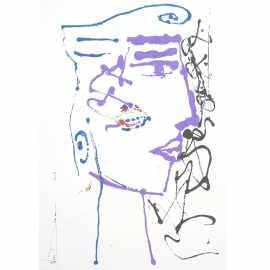 Portrait acrylique N°122