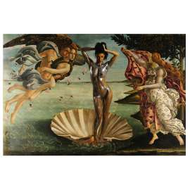 Boticelli a Body Painting Interpretation