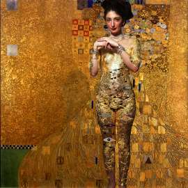 Tribute to G Klimt - Body painting