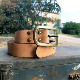 Timeless Women's Belt Lilou - Natural