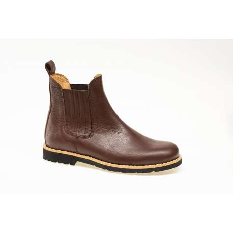 ROMA low boots in genuine leather